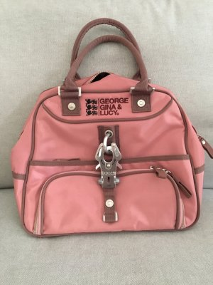 George Gina & Lucy Bolsa de hombro color rosa dorado-rosa