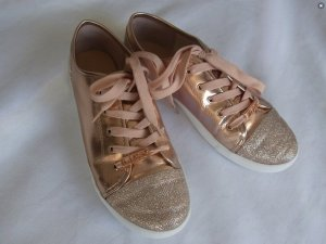 Rosa Glitzersneaker / metallic / rosè / pink / weiß /white / Sparkling Sneaker