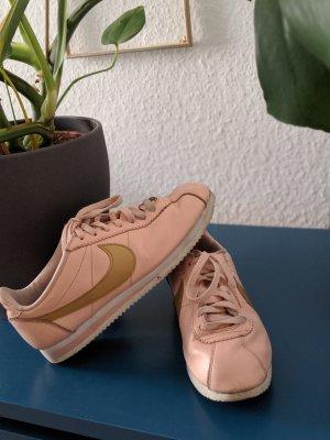rosa goldene Nike Cortez Sneaker