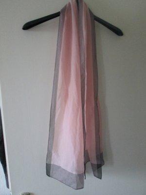C&A Silk Scarf pink-grey polyester