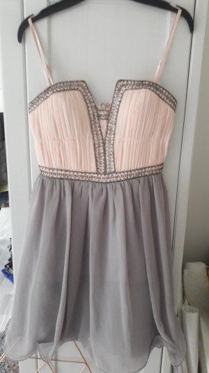 rosa-graufarbenes Kleid von Asos