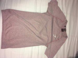 Rosa Gymshark Seamless T-Shirt
