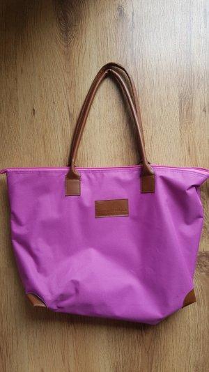 Rosa Handtasche von Daniel Hechter (Paris)