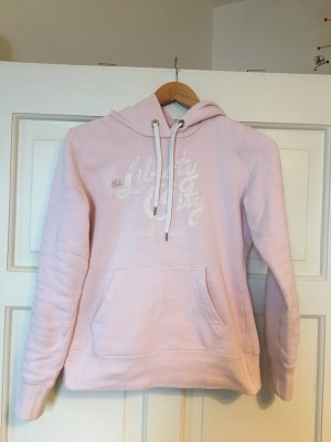 H&M L.O.G.G. Hooded Sweater light pink cotton