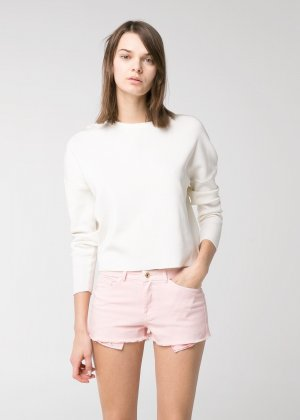 Rosa Hot Pants von Mango 38 Hotpants Shorts M