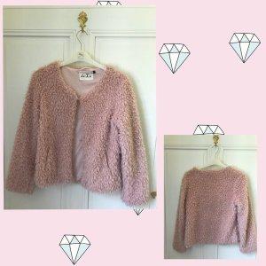 Fake Fur Jacket pink