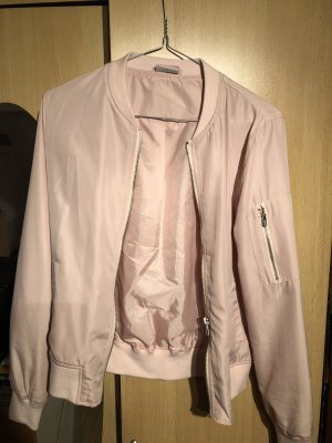 Chaqueta estilo universitario color rosa dorado-rosa