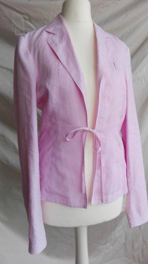 Strenesse Gabriele Strehle Linnen blouse rosé-lichtroze Linnen