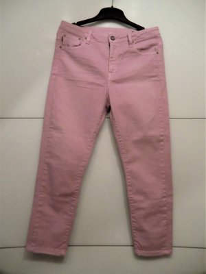 Carrot Jeans light pink cotton