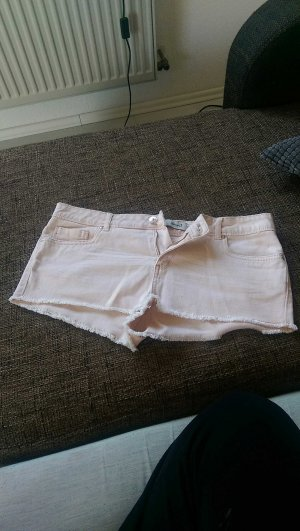 rosa Jeansshort kurz
