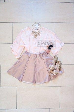 Zara Top collo ad anello rosa pallido-rosa chiaro