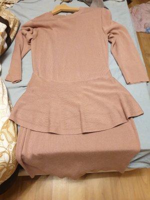 b.p.c. Bonprix Collection Jersey Dress rose-gold-coloured