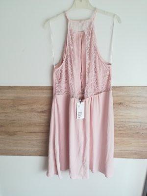 Rosa Kleid H&M neu mit Preisschild gr 42 elegant Spitze kurz