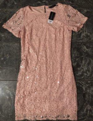 Rosa Kleid mit Pailletten