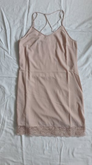 Rosa Kleid mit Spitzensaum VERO MODA