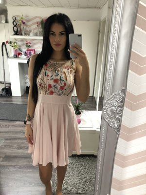 Orsay Lace Dress pink