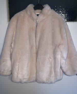 Tally Weijl Giacca di pelliccia color oro rosa