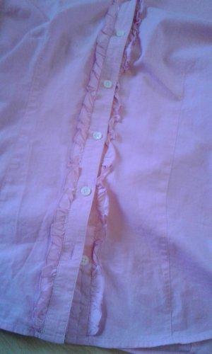 rosa kurzärmlige Bluse von Brax