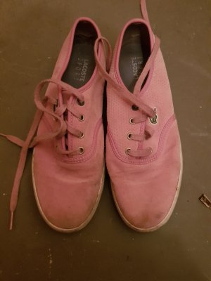 Rosa Lacoste Schuhe