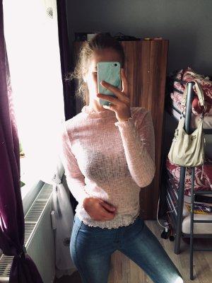 Rosa Langarm Shirt