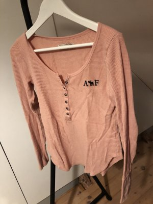 Abercrombie & Fitch Manica lunga color oro rosa
