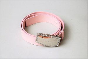 Sisley Leather Belt light pink-pink