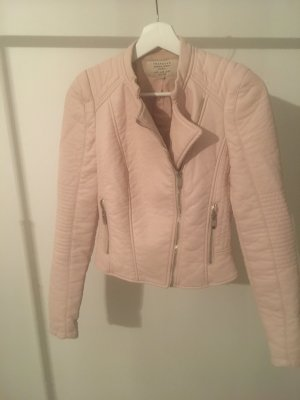Zara Biker Jacket rose-gold-coloured-pink