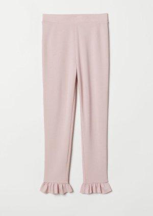 H&M Leggings rosa claro
