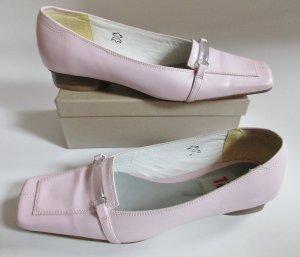 Rosa Loafer Görtz 17 Größe 38 Schuhe Slipper Business Rose Leder Spangenschuh Acryl Pumps