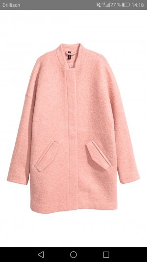 H&M Manteau oversized or rose-rosé
