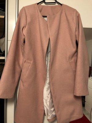 0039 Italy Fake Fur Coat rose-gold-coloured