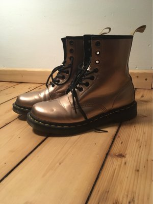 Dr. Martens Short Boots rose-gold-coloured-silver-colored