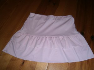 Flounce Skirt pink mixture fibre