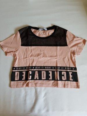 Rosa New Yorker Crop T-Shirt