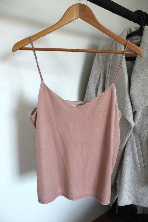 H&M Camisoles dusky pink