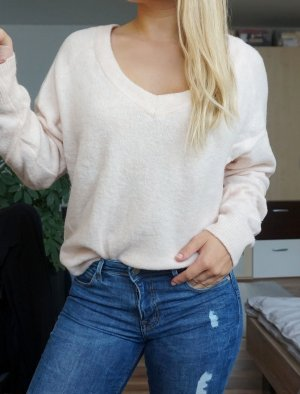 rosa oversized Pullover