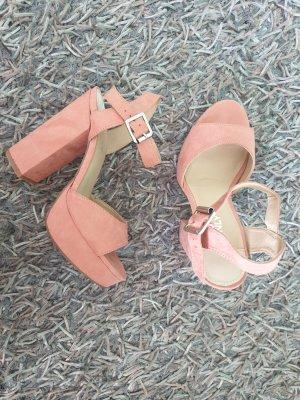 rosa/peach - farbene High Heels