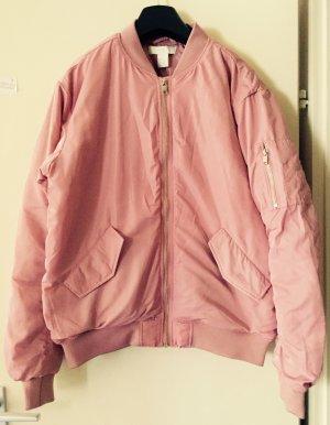 Rosa Pilotenjacke von H&M