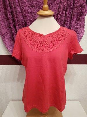 Rosa  pink Shirt Top Kurzarm von Gina Benotti Gr. 44/46