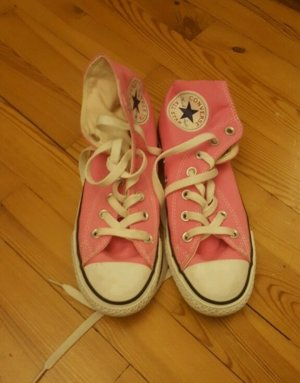 Rosa-Pinke Converse