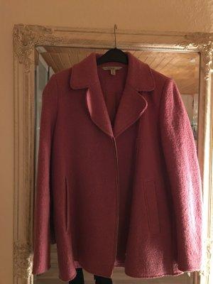 Rosa/Pinker Mantel/Bikermantel Zara