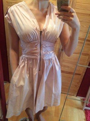 Rosa Pinkes Kleid mit Reißverschluss von h&m