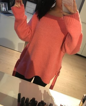 H&M L.O.G.G. Oversized Sweater pink