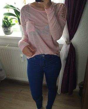 Takko Crewneck Sweater light pink