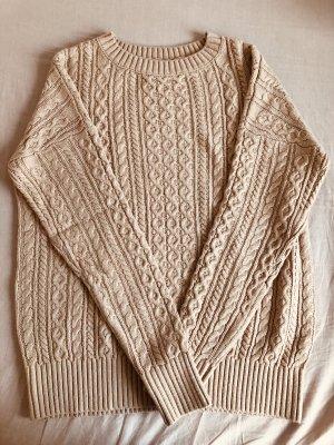 Rosa Pullover + gratis Schal