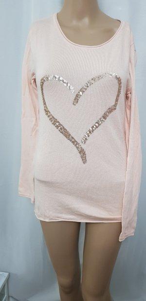 Cecilia Classics Sweater dusky pink