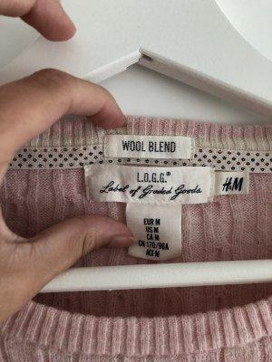 Rosa Pullover von H&M