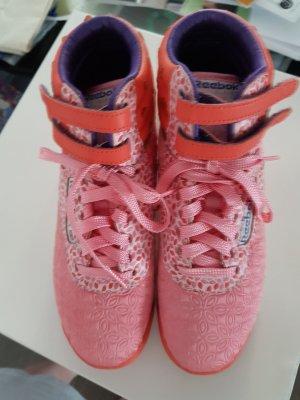 Reebok Sneaker con strappi albicocca-salmone