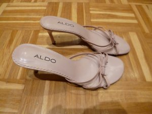 Aldo Strapped High-Heeled Sandals light pink