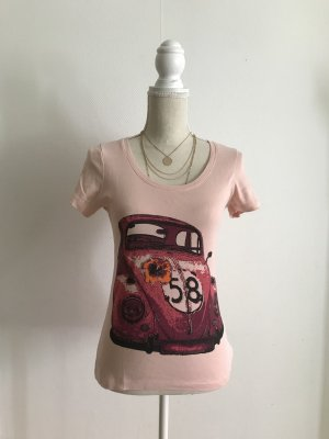 Rosa rose Shirt in 36/38 S/M von Chillytime NEU